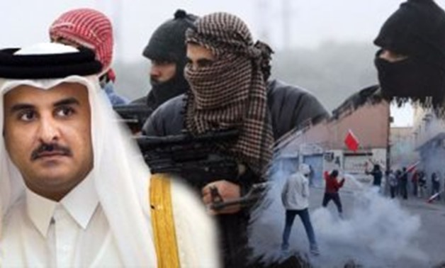 Tamim and Bahrain demonstrations in 2011