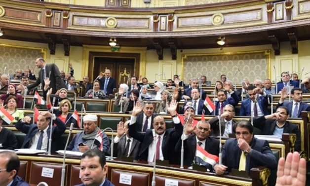 FILE - Parliament vote on constitutional amendments - photo by Khaled Mashaal