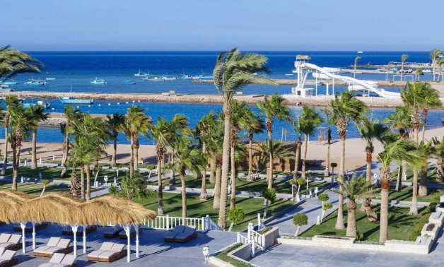 FILE - Hurghada boasts some of the most beautiful beaches in Egypt and the world