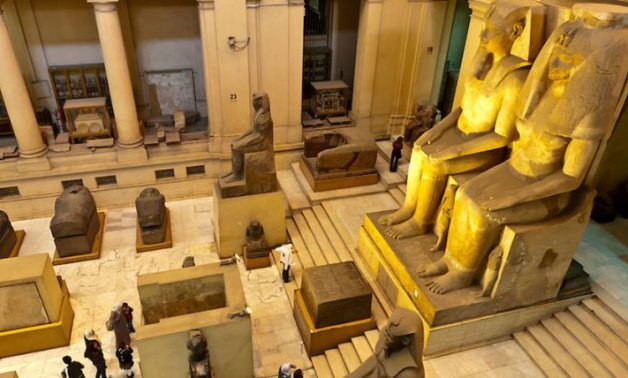 Inside the Egyptian Museum in Tahrir – Press photo