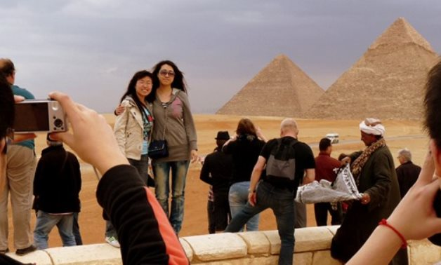 Japanese tourist in Egypt – from the Tourism Ministry official website