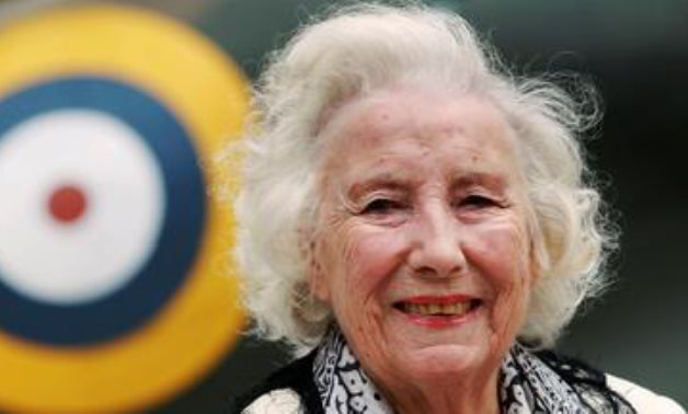FILE PHOTO: Second World War British Forces Sweetheart Vera Lynn attends the Battle of Britain commemoration outside the Churchill War Rooms in London, Britain August 20, 2010. REUTERS/Luke MacGregor/File Photo