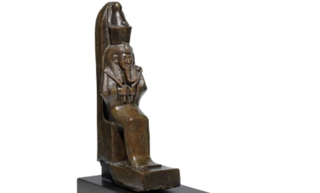 One of the Egyptian artifacts held for sale in Christie's - ET