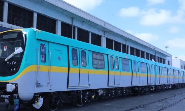 Second of 32 metro trains arrive at Alexandria port from Hyundai Rotem
