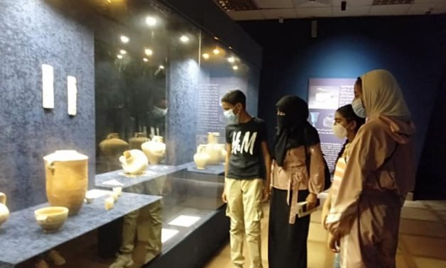 During one of the educational trips – Min. of Tourism & Antiquities official page