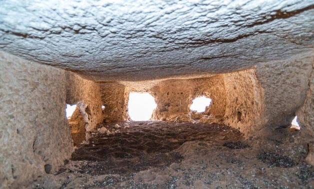 New archaeological discovery west of Abydos, Egypt
