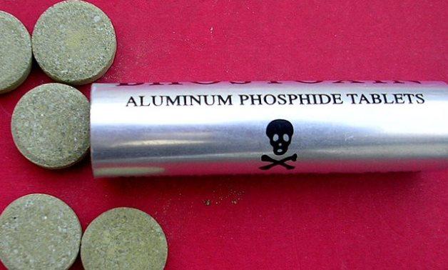 Aluminum Phosphide tablets.- CC via Wikimedia
