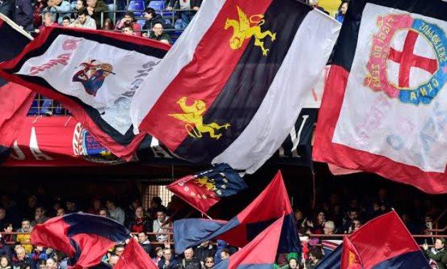 Genoa, Italy - March 17, 2019 Genoa fans REUTERS/Massimo Pinca/Files