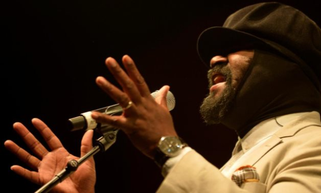 FILE PHOTO: U.S. singer Gregory Porter performs at the Jazzaldia Festival in San Sebastian, Spain, July 25, 2017. REUTERS/Vincent West