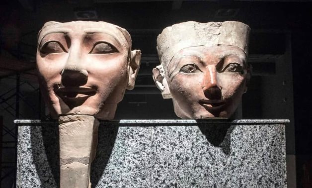 Part of the artifacts to be displayed in Sharm El-Sheikh Museum - Min. of Tourism & Antiquities
