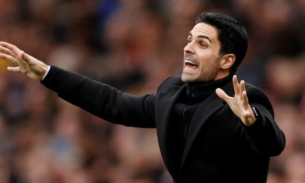 Arsenal manager Mikel Arteta Action Images via Reuters/John Sibley/File Photo