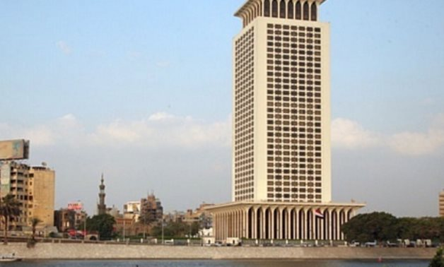 FILE - Headquarters of the Ministry of Foreign Affairs in Cairo