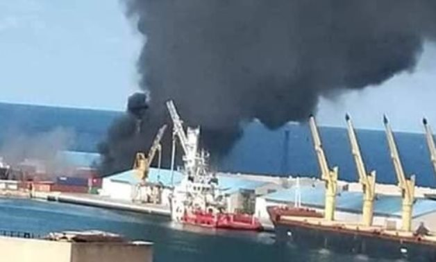 The Libyan National Army (LNA) announced on February 18, 2020 destroying a Turkish ship in the Port of Tripoli, in the capital, which it said was carrying weapons and ammunition