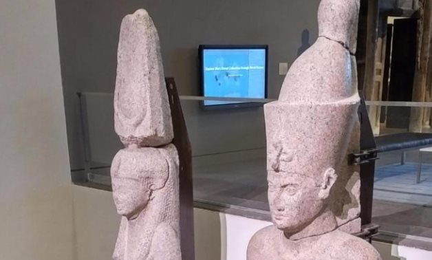 The two dazzling statues returned to Egypt after roaming numerous cities since 2015 – Egyptian Min. of Tourism & Antiquities