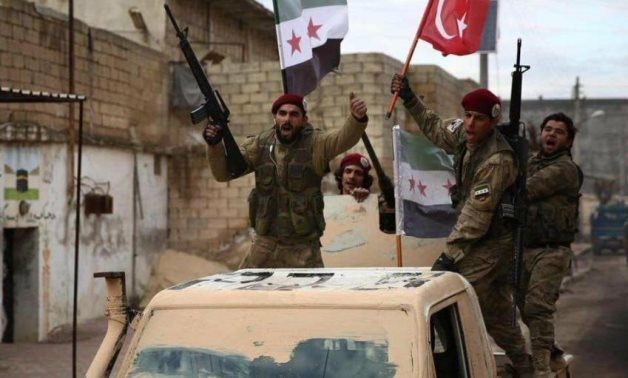 FILE: Turkish-backed Syrian opposition armed groups in northern Syria