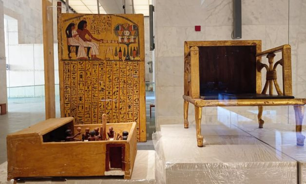 NMEC in Fustat houses artifacts of different eras reflecting Egypt's magical civilization - Egypt's Min. of Tourism & Antiquities