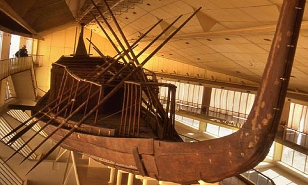 First Khufu's Ship – Ancient Pages