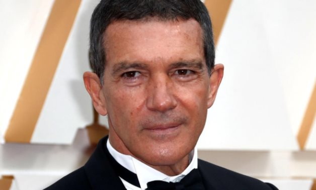 FILE PHOTO: Antonio Banderas in Dior poses on the red carpet during the Oscars arrivals at the 92nd Academy Awards in Hollywood, Los Angeles, California, .