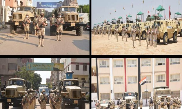 Egyptian Armed Forces continue to secure Senate elections for 2nd day in a row