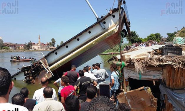 Capszied ferry boat in Beheira leaves four deaths