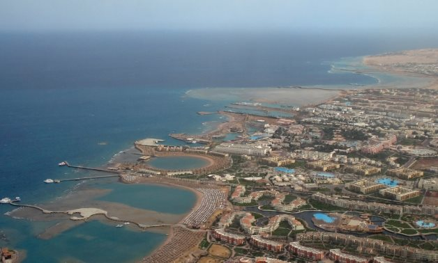 Hurghada (Egypt): hotels in the southern part of the town- CC via Wikimedia
