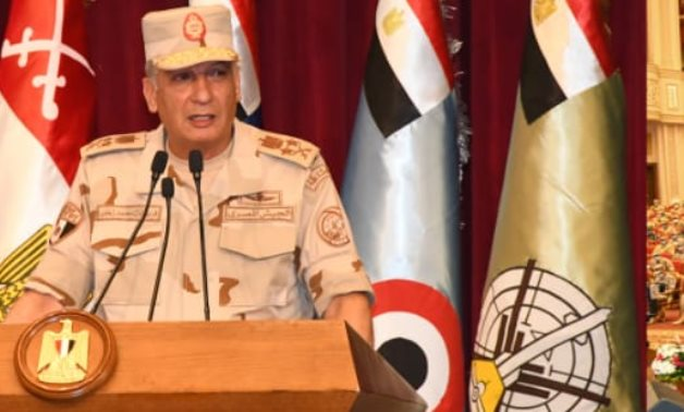 Egypt's Minister of Defense and Military Production Mohamed Zaki  - file