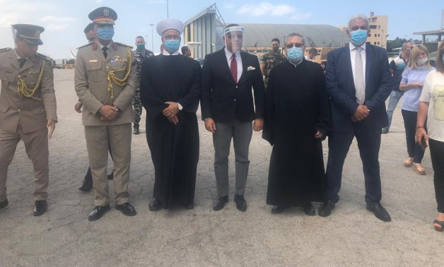 Two Egyptian planes carrying about 27 tons of relief assistance, foodstuffs, and medical supplies arrived in Beirut-Rafic Hariri International Airport on Saturday.
