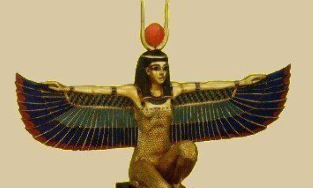 Isis – Ancient Egyptian goddess of fertility - photo via Pinterest