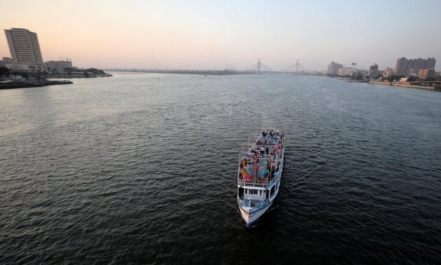 A boat transports people along the river Nile in Cairo, Egypt July 2, 2019. REUTERS/Mohamed Abd El Ghany
