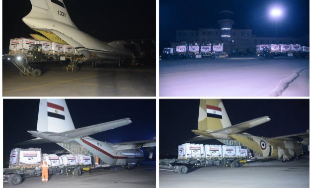FILE - Egypt sends more relief planes to Sudan, S.Sudan over deadly floods - Military spokesman's Facebook page