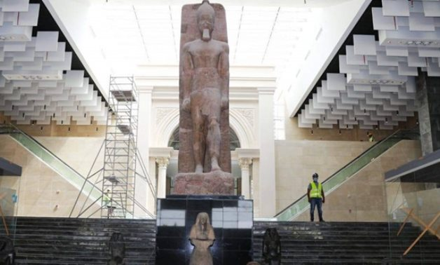 Works are underway in Egypt's New Administrative Capital Museum - ET