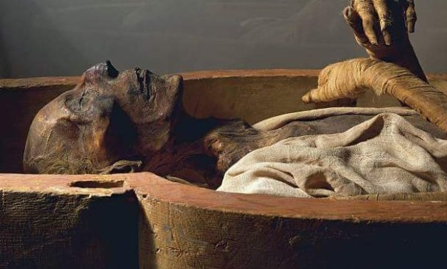 Royal Egyptian mummy - ET