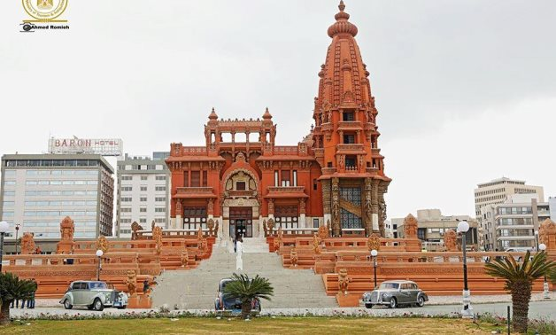 Baron Empain Palace in Heliopolis after recent renovation works - photo via Egypt's Min. of Tourism & Antiquities