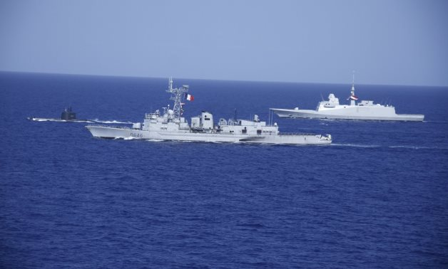 Naval forces of Egypt and Frances have carried out a military exercise in the Mediterranean – Military spox