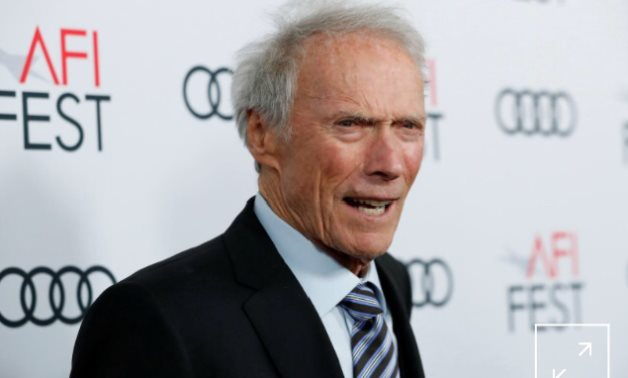 """FILE PHOTO: Director Clint Eastwood poses at the premiere for the movie """"Richard Jewell"""" in Los Angeles, California, U.S., November 20, 2019. REUTERS/Mario Anzuoni/"""