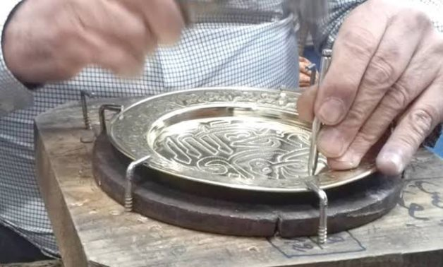 Egypt's traditional crafts - photo via Egypt's Min. of Culture