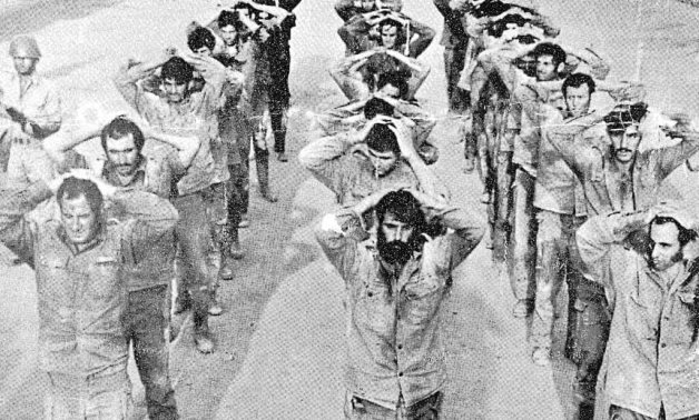 Israeli soldiers in Egyptian captivity during the October 1973 war - ET
