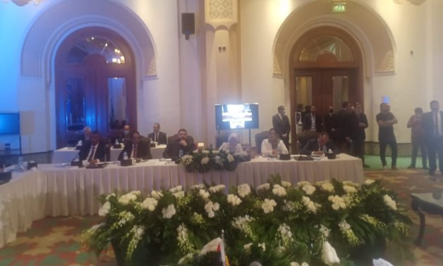 FILE PHOTO: Libyan Political Dialogue Forum, which was launched in Cairo under the auspices of the United Nations Support Mission in Libya (UNSMIL)