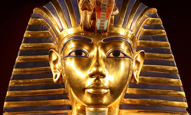 FILE - King Tutankhamun's Golden Mask