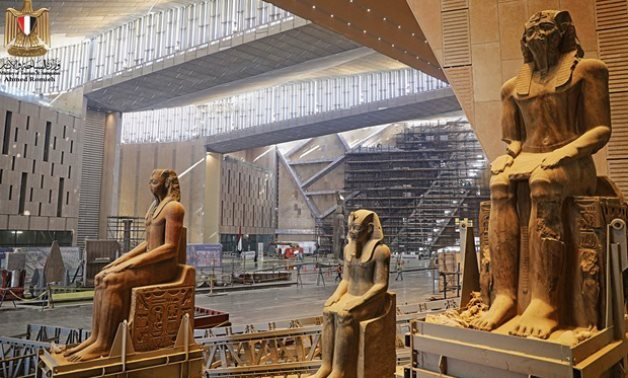 Grand Egyptian Museum to be 1st of its kind in history of museums  - photo via Egypt's Min. of Tourism & Antiquities