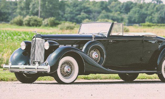 Antique Classic Car - Social Media