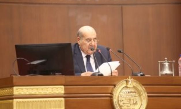 Former head of the Constitutional Court Abdel Wahab Abdel Razek has been elected as the Senate's head