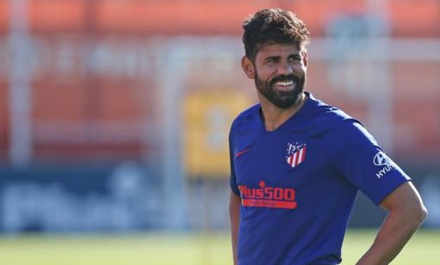 Atletico Madrid's Diego Costa, Reuters