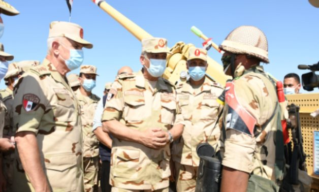 Egyptian defense minister inspects preparations to raise combat efficiency among Third Field Army – Press photo