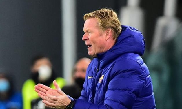 Barcelona coach Ronald Koeman, Reuters