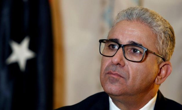 FILE - Libyan Minister of Interior at Tripoli-based Government of National Accord (GNA) Fathy Bashagha – Reuters