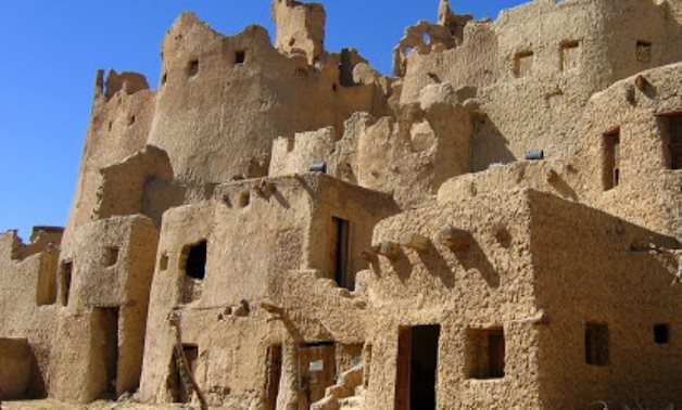 FILE - Shali Fortress in Siwa Oasis, Egypt