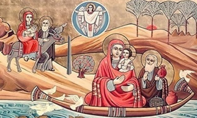 Picture illustrating the path of the Holy Family in Egypt - photo via Egypt's State Info. Service