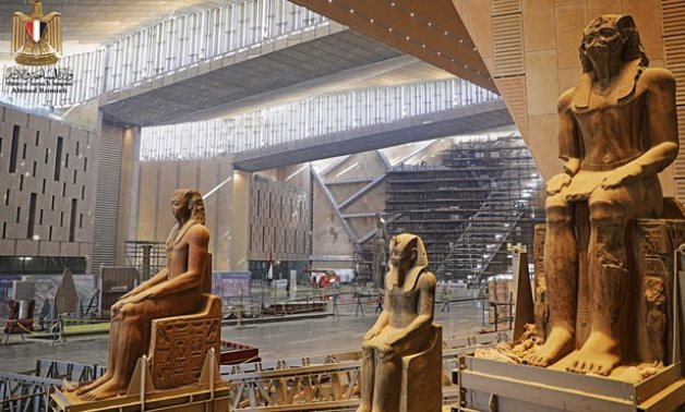 The Grand Egyptian Museum - Photo via Egypt's Min. of Tourism & Antiquities