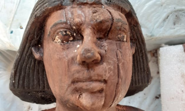 Part of the new discoveries in the Saqqara Necropolis - photo via Egypt's Min. of Tourism & Antiquities
